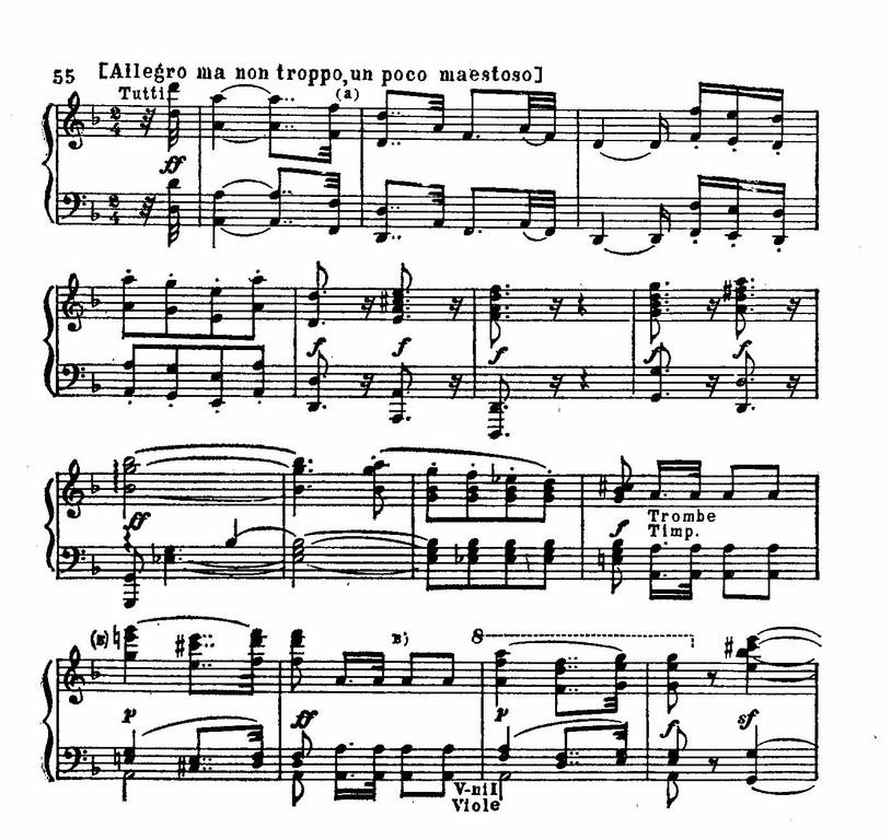 Бетховен симфония 3
