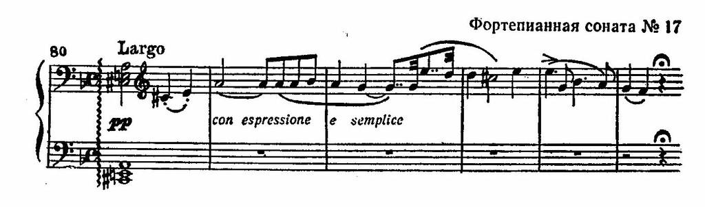 Бетховен соната ре минор
