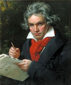 Бетховен в 1820 году