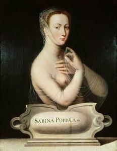Поппея Сабина на картине 16 века