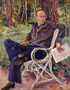 С. С. Прокофьев. Портрет работы П. П. Кончаловского. 1934